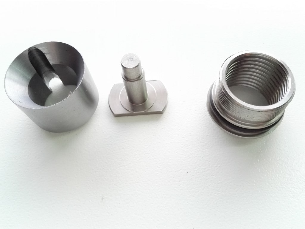 Inox components and parts